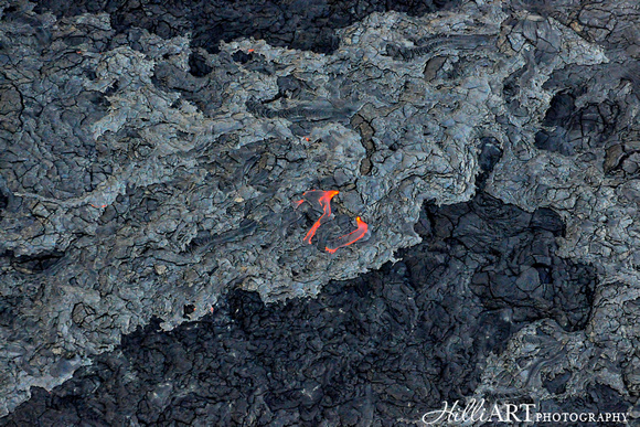 Liquid Land - Kilauea Volcano